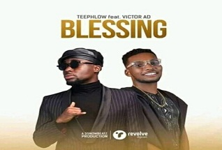 Teephlow ft. Victor AD – Blessing (Prod by SnowBeatz)